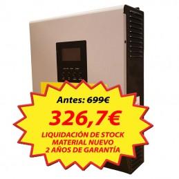 Inversor Voltronic, Axpert Híbrido 5000-60, 48Vcc, 50A-PWM, 60A-AC (paralelo)