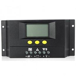 Regulador SOLAR30 30A/12-24V con display de carga PWM