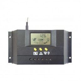 Regulador de carga PWM SOLAR348 30A/48V con display