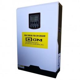 Inversor Voltronic, Axpert Híbrido Basic One 3000-24MPPT PLUS, 24Vcc, 60A-MPPT, 60A-AC Con ecualización automática