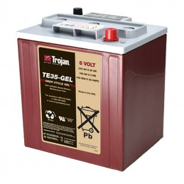 Batería solar Trojan TE35 6V/271Ah C100