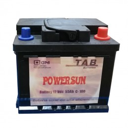 Batería solar POWER SUN...