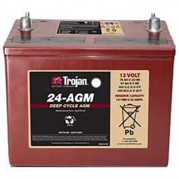 Batería solar AGM Trojan Monoblock de 12V/84Ah C100