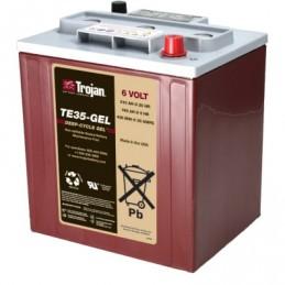 Batería Monoblock GEL Trojan de 6V/220Ah C100