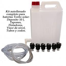 Kit autollenado baterias Torito solar 48V